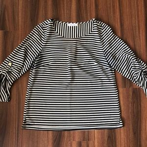 Calvin Klein 3/4 length sleeve top